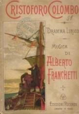 Cristoforo Colombo (libretto, ed. Ricordi)