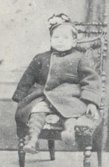 Alberto Franchetti bambino