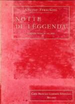 Notte di leggenda (copertina dello spartito, ed. Ricordi)