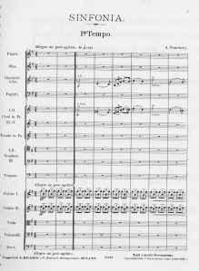 Alberto Franchetti, Sinfonia - I tempo