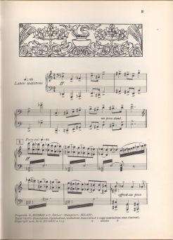 La figlia di Iorio (prima pagina dello spartito, ed. Ricordi)