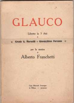 Glauco (libretto, ed. Sonzogno)