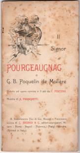 Il Signor di Pourceaugnac (libretto, ed. Ricordi)