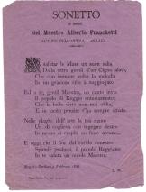 Sonetto di E.M. in onore di Franchetti per Asrael