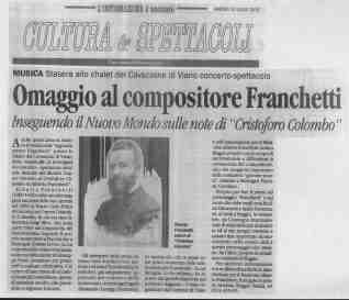 2010 Concerto Cavazzone L'informazione 13 luglio 2010