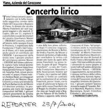 Eventi2004 12 Reporter 27 agosto 2004