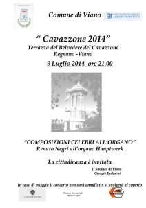 Locandina Cavazzone 9 lug 2014